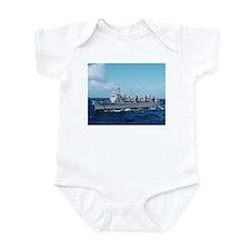 USS Detroit Ship's Image Infant Bodysuit