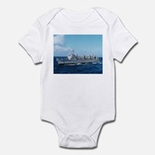 USS Detroit Ship's Image Infant Bodysuit