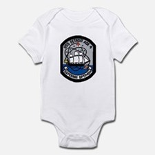 USS Detroit AOE 4 Infant Bodysuit