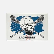 Lacrosse Attitude Rectangle Magnet (10 pack)