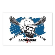 Lacrosse Attitude Postcards (Package of 8)
