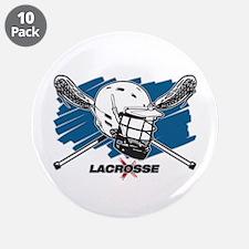 "Lacrosse Attitude 3.5"" Button (10 pack)"