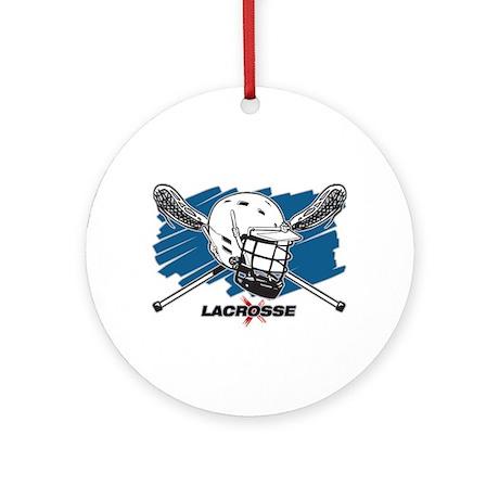 Lacrosse Attitude Ornament (Round)