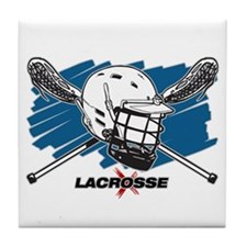 Lacrosse Attitude Tile Coaster
