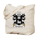 Humphrey Family Crest Tote Bag