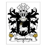 Humphrey Family Crest Small Poster