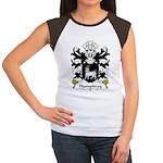 Humphrey Family Crest Women's Cap Sleeve T-Shirt