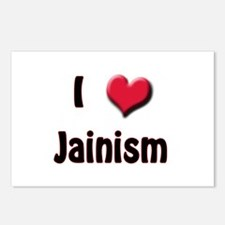 I Love (Heart) Jainism Postcards (Package of 8)