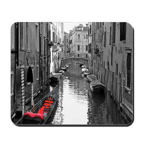 Venice Canal w/Gondola Mousepad