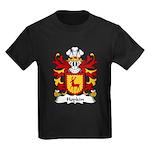 Hopkin Family Crest Kids Dark T-Shirt