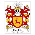 Hopkin Family Crest Small Poster