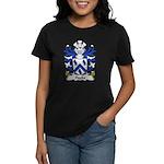 Hooks Family Crest Women's Dark T-Shirt