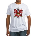 Hood Family Crest Fitted T-Shirt