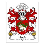Hood Family Crest Small Poster