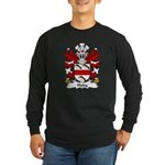 Hoby Family Crest Long Sleeve Dark T-Shirt