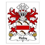 Hoby Family Crest Small Poster