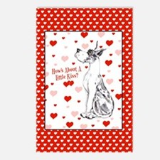 Great Dane Harle Kiss Postcards (Package of 8)
