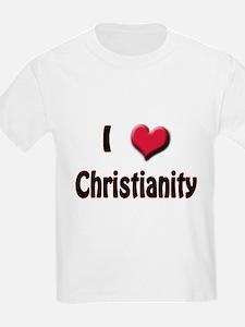 I Love (Heart) Christianity T-Shirt