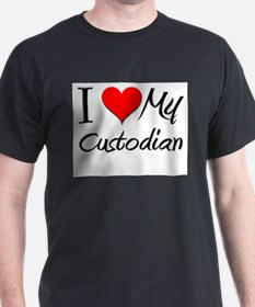 I Heart My Curator T-Shirt