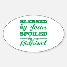 Fun%2c god%2c blessed Sticker (Oval)