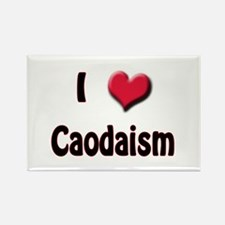 I Love (Heart) Caodaism Rectangle Magnet