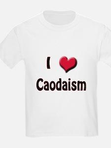 I Love (Heart) Caodaism T-Shirt