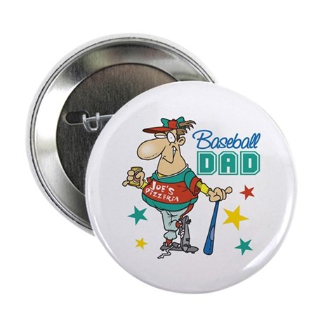 "Baseball Dad 2.25"" Button (10 pack)"