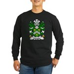 Heleighe Family Crest Long Sleeve Dark T-Shirt