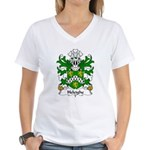Heleighe Family Crest Women's V-Neck T-Shirt