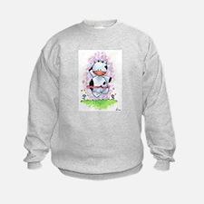Happy Dancing Cow Sweatshirt