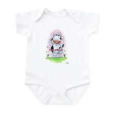 Happy Dancing Cow Infant Bodysuit