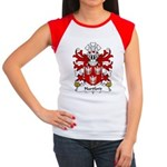 Hartford Family Crest Women's Cap Sleeve T-Shirt
