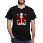Hall Family Crest Dark T-Shirt