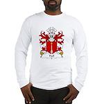 Hall Family Crest Long Sleeve T-Shirt