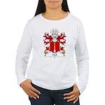 Hall Family Crest Women's Long Sleeve T-Shirt
