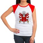 Hall Family Crest Women's Cap Sleeve T-Shirt
