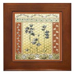 Asian Tranquility Framed Tile