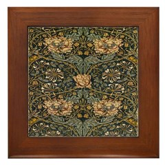 Honeysuckle Framed Tile