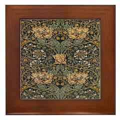 Honeysuckle Framed Tile