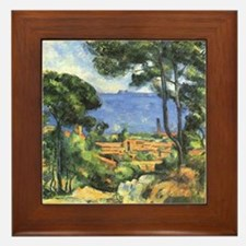 Chateau View Framed Tile