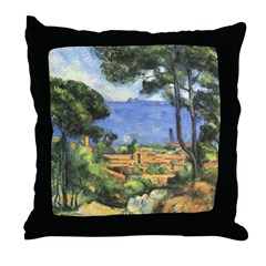 Chateau View Throw Pillow