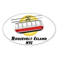 Roosevelt Island Tram Oval Decal