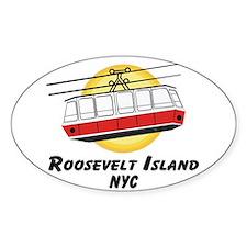 Roosevelt Island Tram Oval Decal
