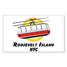 Roosevelt Island Tram Rectangle Decal
