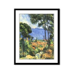 Chateau View Framed Print
