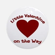 Little Valentine Ornament (Round)