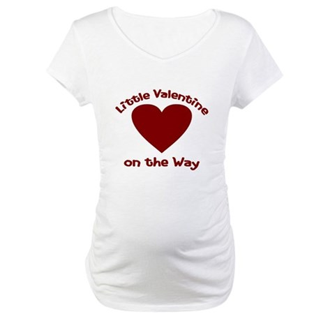 Little Valentine on the Way Maternity Shirt