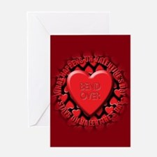 bend over Greeting Card