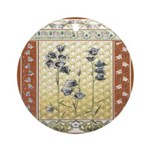 Asian Tranquility Ornament (Round)