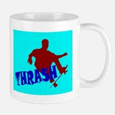 RED BLUE THRASHER Mug